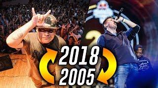 RIMAS QUE PARARON CADA AÑO !! (2018 - 2005) [ESPECIAL 400K] Batallas de Gallos Rap