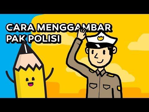 91 Gambar Animasi Polisi Keren Paling Keren