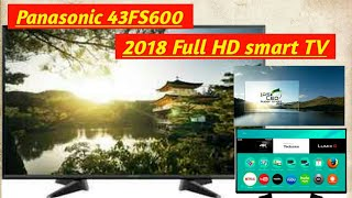 panasonic 43FS600 Full HD smart TV Unboxing