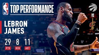 LeBron James Dominant Game 4 Performance!