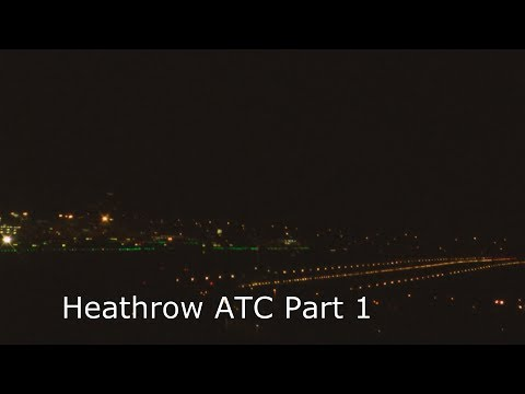 PT1 ATC Radio Communications London Heathrow Airport Tower Brunei 787 (4th 12 2013)