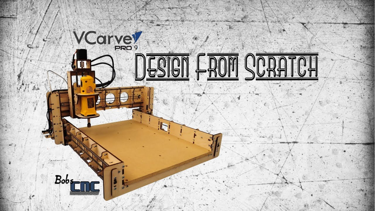 VCarve Pro 9 - How to Design from Scratch in VCarve