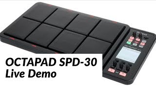 Amazing Live Demo della batteria elettronica Roland -SPD 30