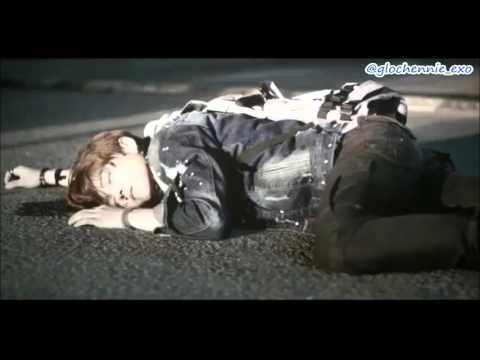 Luhan The Witness (eng sub) - Got chased and hit by car cut