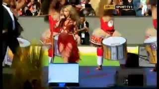 Shakira - La La La  Brazil Closing Ceremony 2014  ft. Carlinhos Brown