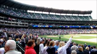 Seattle Mariners Eric Thames home run vs Texas Rangers. Baseball match @ Safeco Field 23/09/2012