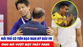Tin BĐVN 21/1: Đối Thủ Nhập Tịch 2 Tiền Đạo Nam Mỹ Đấu Việt Nam- Ông Nishino Vượt Mặt Thầy Park