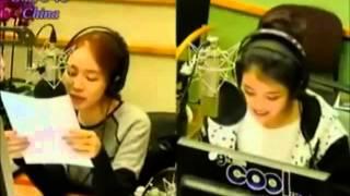 IU (아이유) 模仿小孩子說話 @111208劉仁娜提高音量