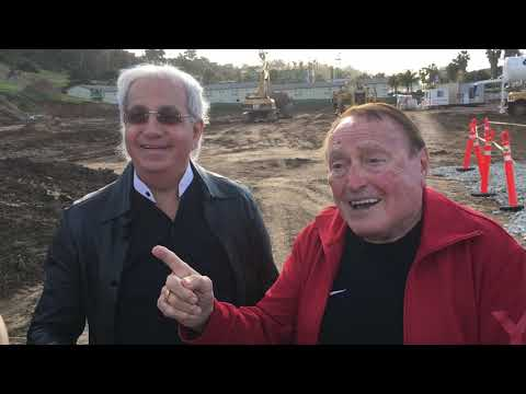Pastor Benny Hinn & Morris Cerullo on the Legacy Center grounds!