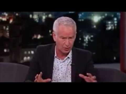John McEnroe Thinks He Could Beat Serena Williams