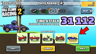 Hill Climb Racing 2 - 31112 points in PARTY POOPER Team Event
