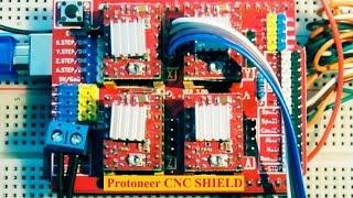 CNC SHIELD 1ère vidéo