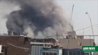 Iran Building Collapse Tehran