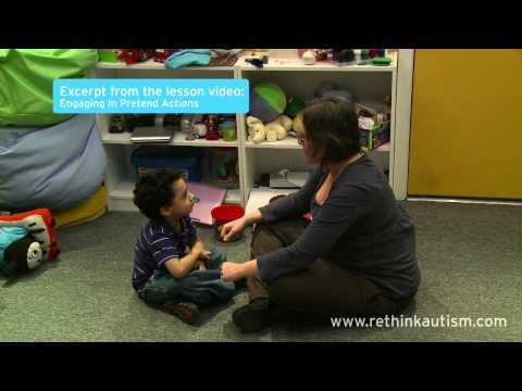 Rethink Autism Tip: Teaching Your Child Pretend Play