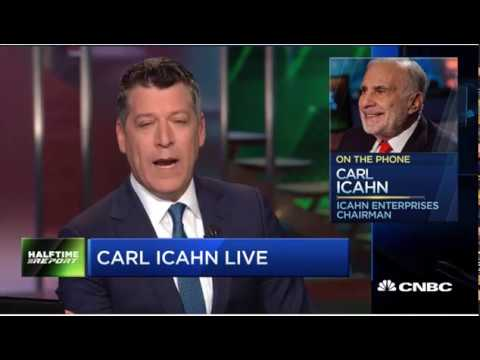 CARL ICAHN LIVE INTERVIEW: LATEST STOCK PICKS AND MARKET OUTLOOK, mp4