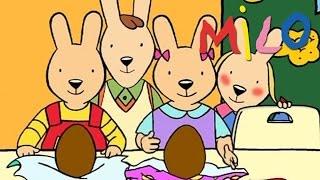 Milo - Les oeufs en chocolat S01EP20 | Dessin animé pour les enfants