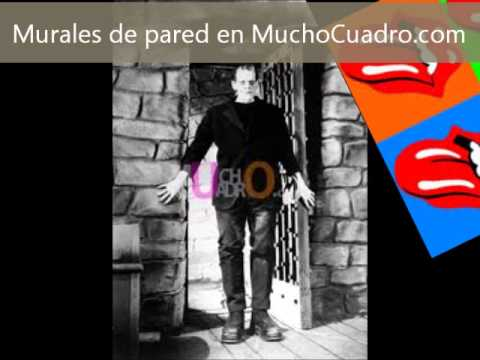 Murales de pared baratos youtube for Murales de pared baratos