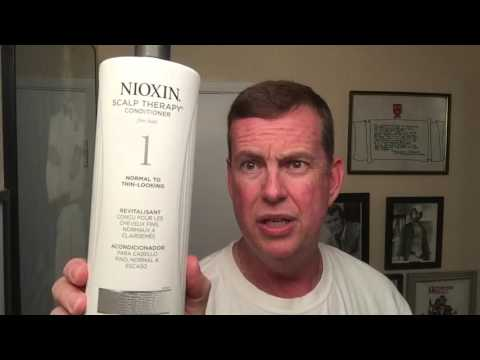 Nioxin Shampoo, treatment to stop thinning hair and hair loss. My experience and opinion.