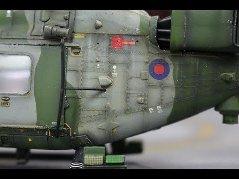 Airfix : Westland Lynx AH.7 : 1/48 Scale Model : Step By Step Video Build : Episode.23 Final