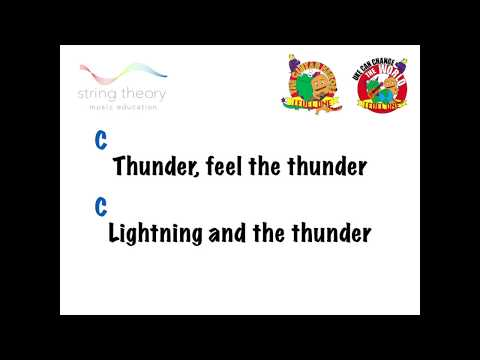 7.1 MB) Thunder Chords - Free Download MP3