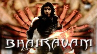 BHAIRAVAM MOTION POSTER BY Nani Krish