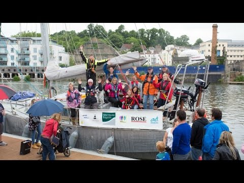 North Pole adventurer sets sail from Bristol