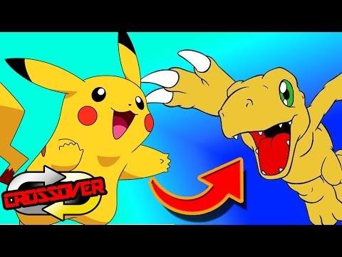 Pokemon to Digimon...and Anna Kournikova! - Crossover