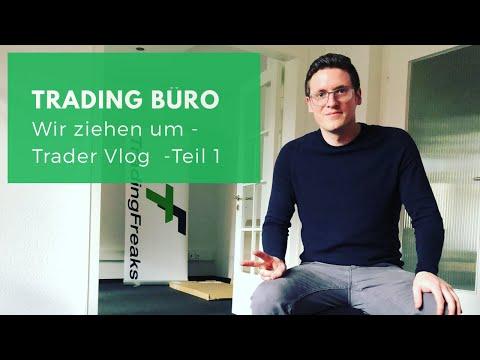 Trading Büro: Wir ziehen um - Trader Vlog (Teil 1)