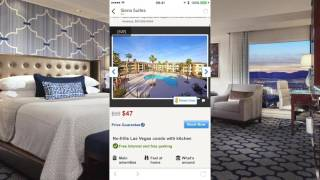 Trivago Hotels App Preview