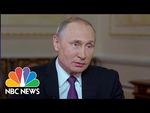 Vladimir Putin: Trust In U.S. Has Deteriorated Under President Donald Trump | NBC News