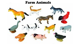 Kids Learning Farm animals name with sound