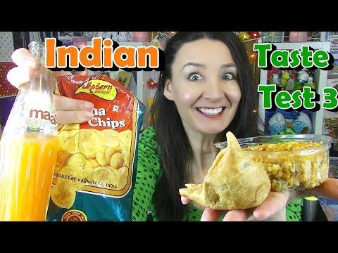 Indian Food Taste Test 3