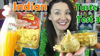 Indian Food Taste Test 3 - Cheeky Tam