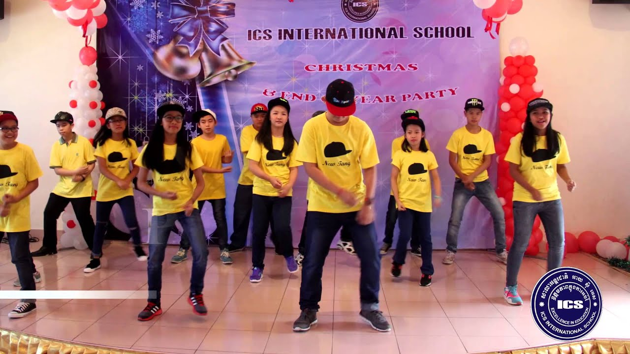 ICS International School Christmas Party for K&P Afternoon - YouTube