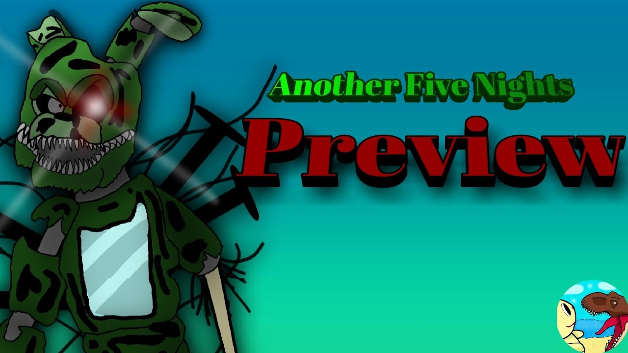 -Another Five Nights-By JT Music, Stop Motion Preview.