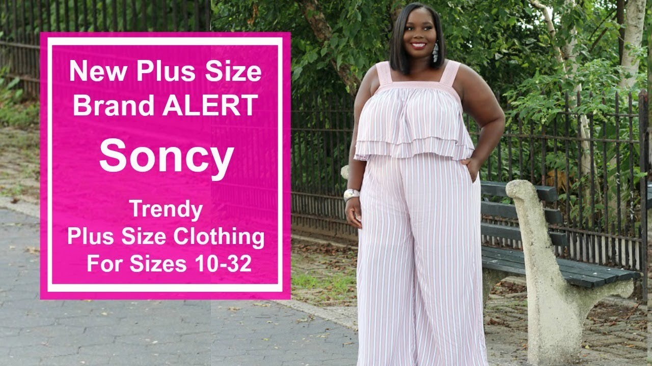 Trendy Affordable Plus Size Clothing From New Plus Size Brand Soncy