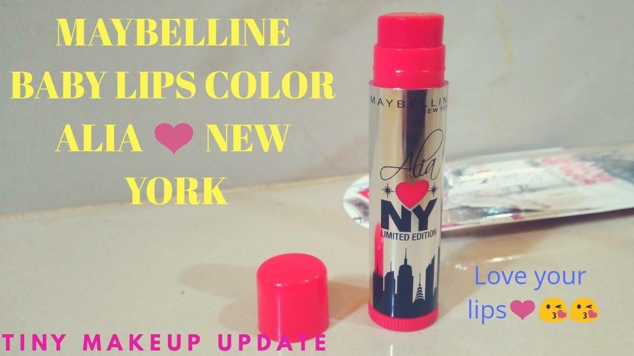 Maybelline new york – alia loves ny baby lips lip balm  review.