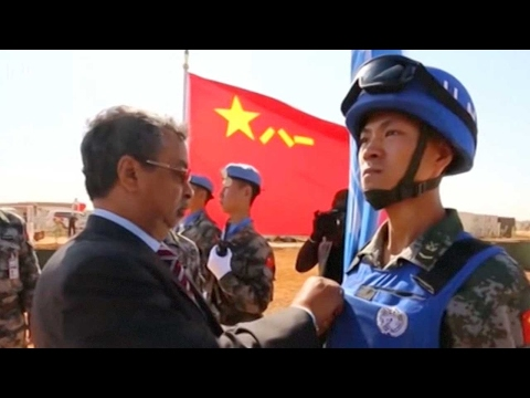 Chinese peacekeepers in Mali awarded UN medals