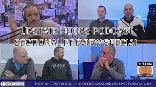 2018 Sectional Preview Special .::. Upstate Hoops Podcast 2/18/18