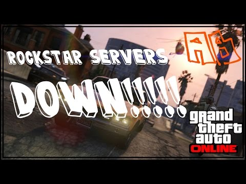 Gta 5 Online Next Gen | Rockstar Cloud Server Down|