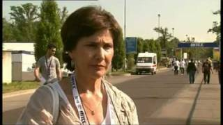Interview with Michelle Mouton, ex-rally driver, about Natalia Kowalska-Polish female driver.