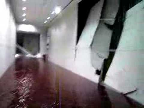 Georgia World Congress Center Indoor Waterfall Post Tornado