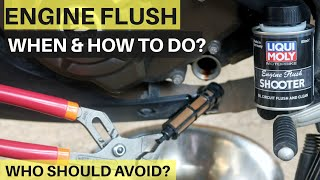 HOW TO FLUSH ENGINE? WHO SHOULD AVOID ENGINE FLUSH? Liqui Moly ENGINE FLUSH REVIEW BEST ENGINE FLUSH