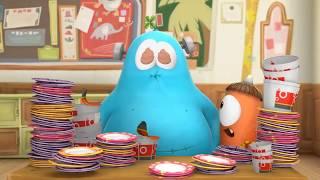 Spookiz | НЕ МОЖЕТ ПЕРЕСТАТЬ ЕСТЬ | Мультфильм для детей | WildBrain