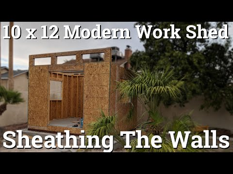 How To Install Osb Wall Sheathing Or Panels Doovi