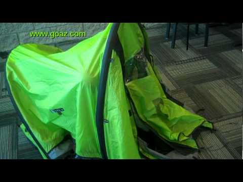 Setting up the Nemo Morpho Airbeam Tent from inside (in case of rain) & Setting up the Nemo Morpho Airbeam Tent from inside (in case of ...