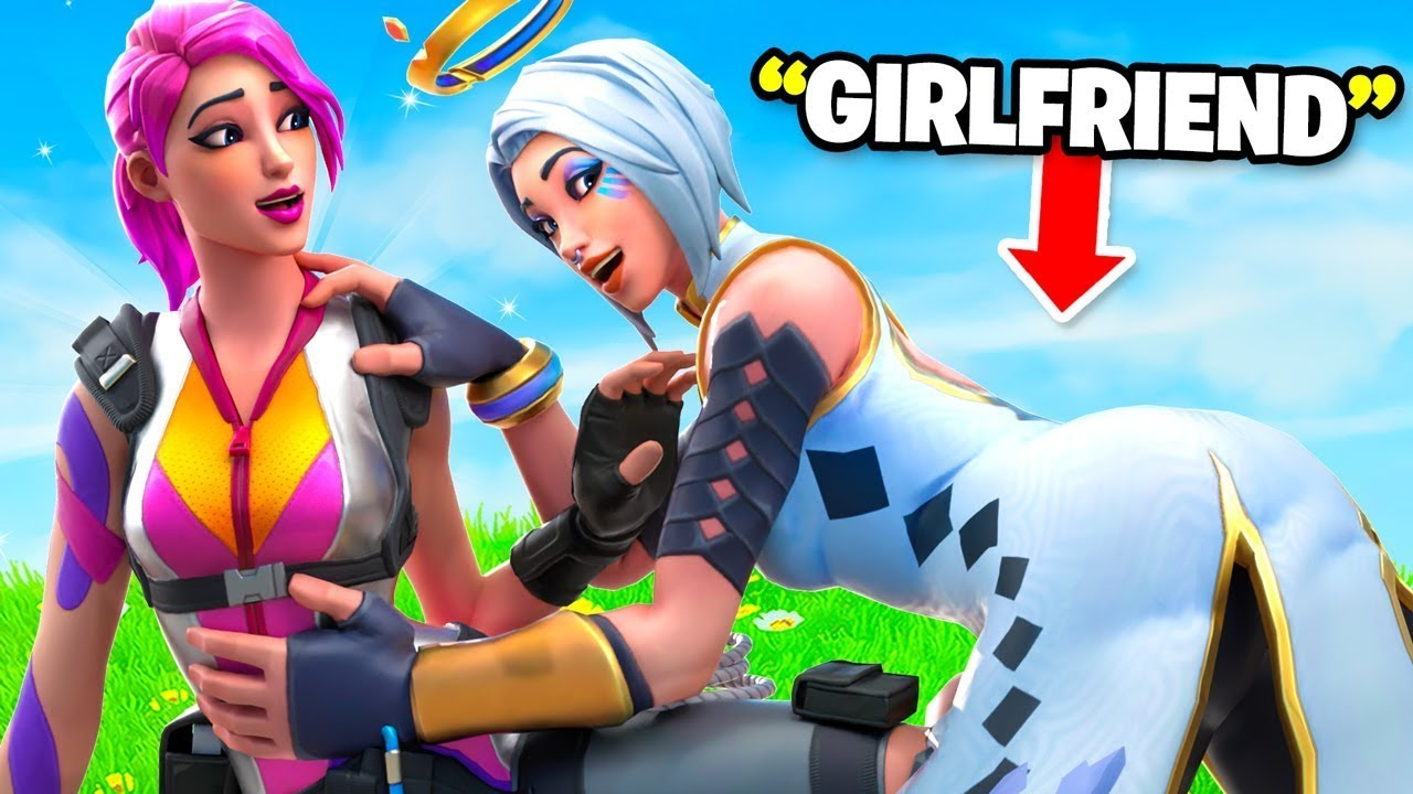 FUNNY MOMENTS 2 with my THIRSTY GIRLFRIEND (FORTNITE)