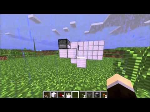 how to make a lever activated door in minecraft
