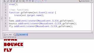Building a Basic Flash Site - Part 8 - Go Beyond - Efficient Actionscript