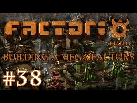Factorio - Building a Mega Factory: Part 38, finishing the IC mine and loading station.